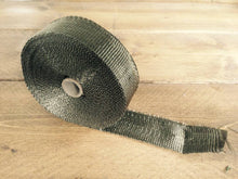 Load image into Gallery viewer, 10Mtr x 2MM Titanium Color Exhaust Wrap