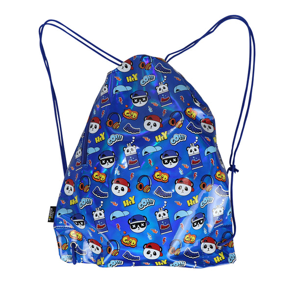 Smily Drawstring Bag-Hiphop Panda