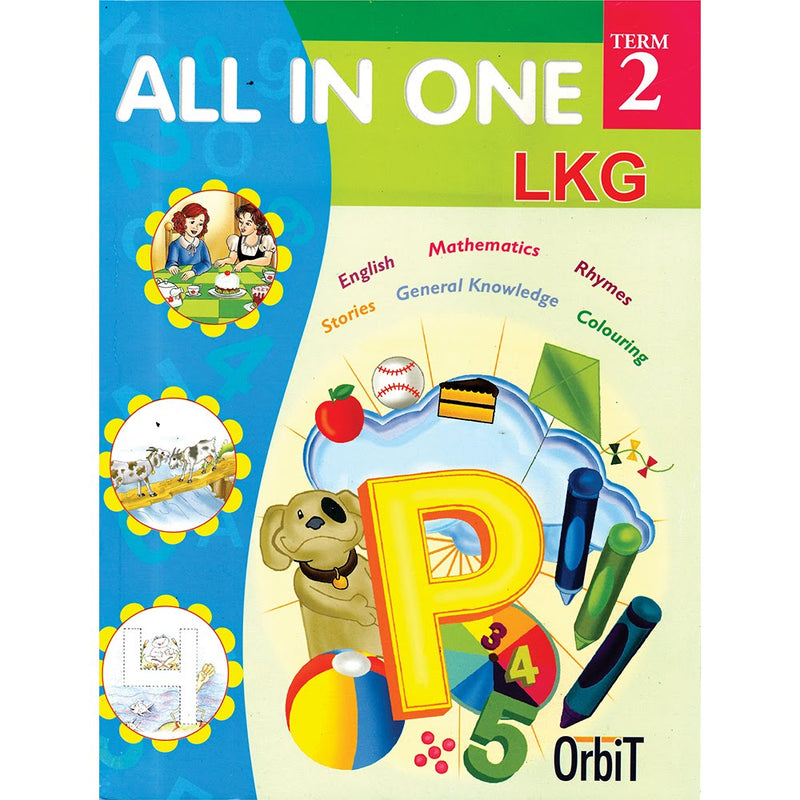 ORBIT-ALL IN ONE LKG TERM 2 ( ENGLISH )