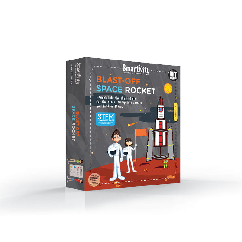 Blast-off Space Rocket