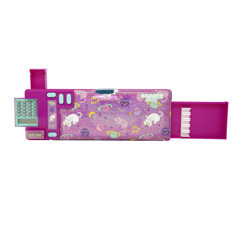 Fancy pop pencil case - Space kitty theme