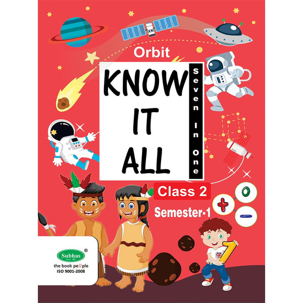 ORBIT KNOW IT ALL CLASS 2 ND STD SEM-1