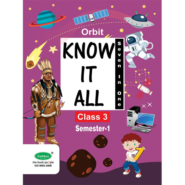 ORBIT KNOW IT ALL CLASS 3 RD STD SEM-1
