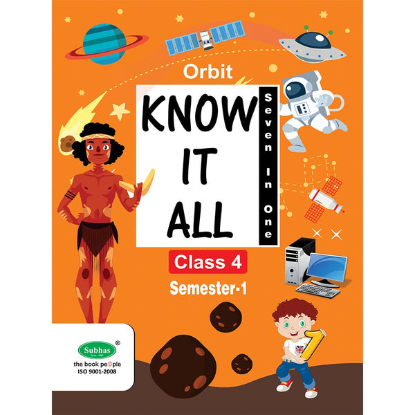 ORBIT KNOW IT ALL CLASS 4 TH STD SEM-1