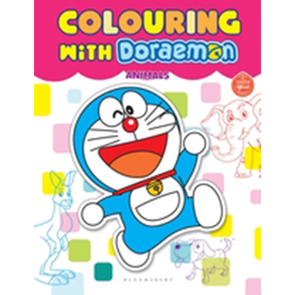 Colouring With Doraemon Animals