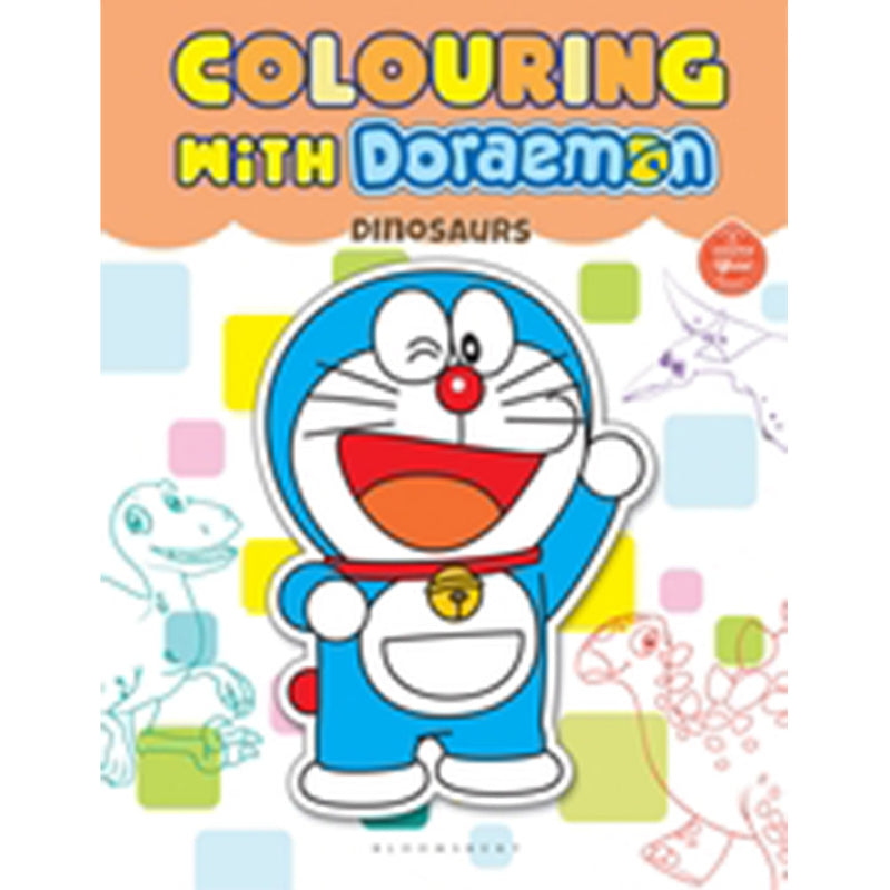 Colouring With Doraemon Dinosaurs