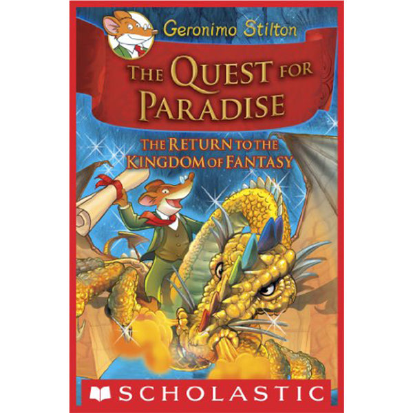 GERONIMO STILTON KINGDOM OF FANTASY : QUEST OF PARADISE