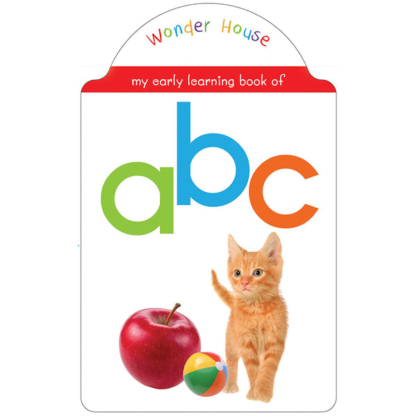 My Early Learning Book Of ABC : Shaped Board Books