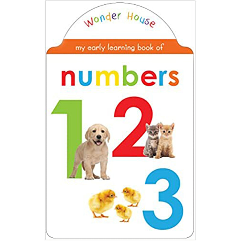 My Early Learning Book Of Numbers : Shaped Board Books