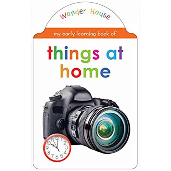 My early learning book of Things At Home