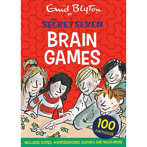 Secret Seven: Secret Seven Brain Games: 100 fun puzzles to challenge you