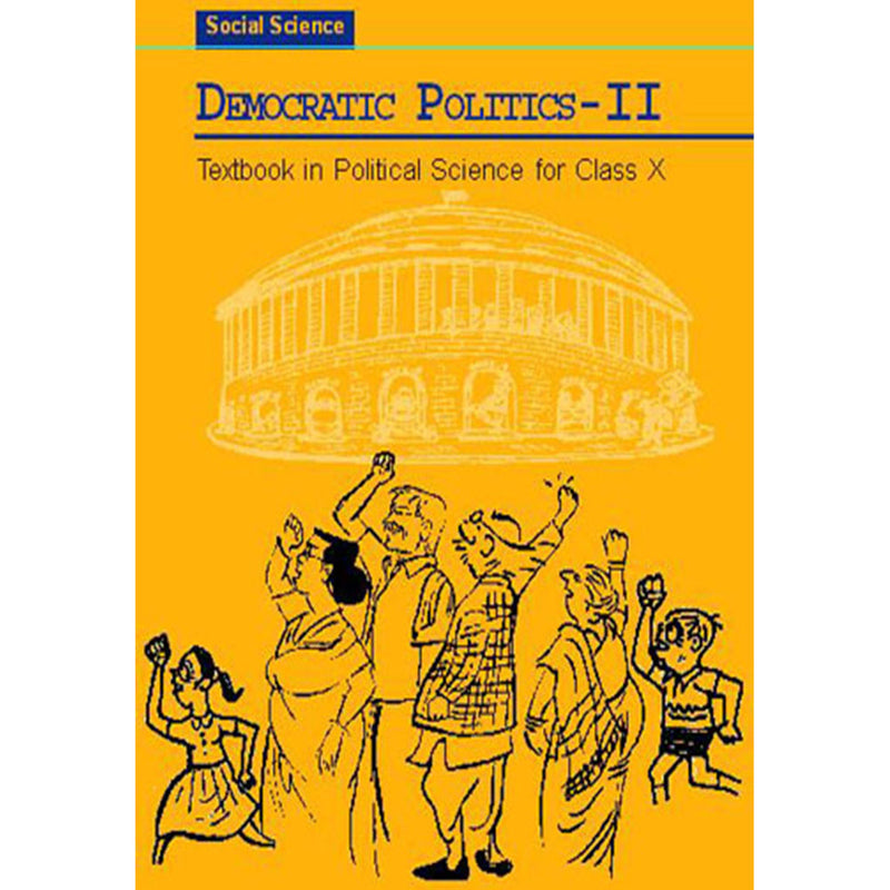 1072 - NCERT - Democratic Politics - II Textbook in Social Science for Class - 10
