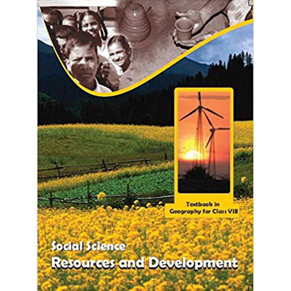 858 - Resources and Development Textbook in Geography for Class - 8