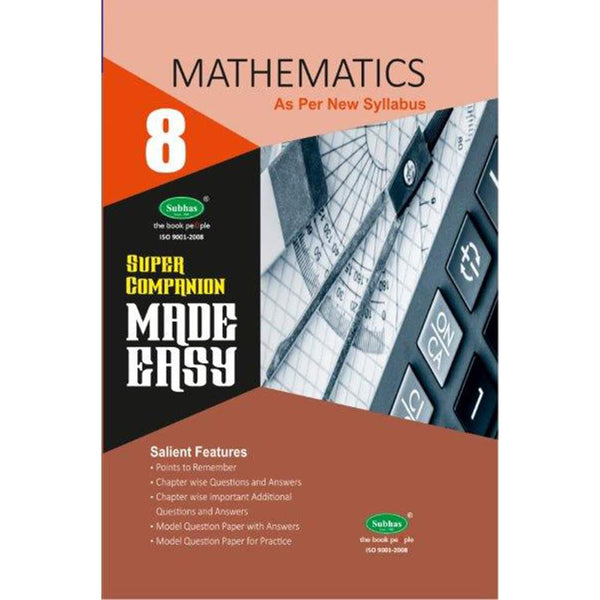 Made Easy Super Companion-8th std Mathematics (E.M.)