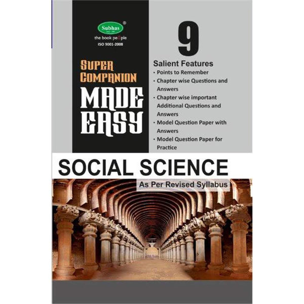 Made Easy Super Companion-9th std Social Science(E.M.)