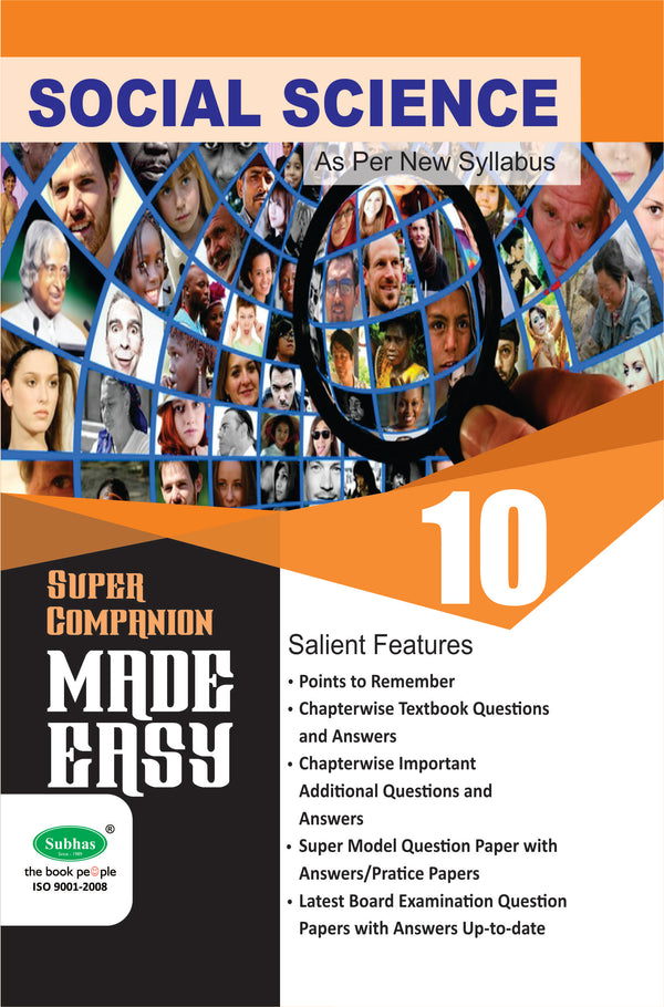 MADE EASY 10TH SOCIAL SCIENCE EM