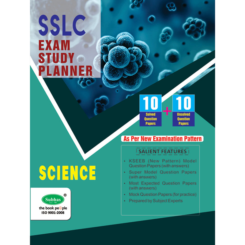 10+10 EXAM STUDY PLANNER 10TH STD SCIENCE