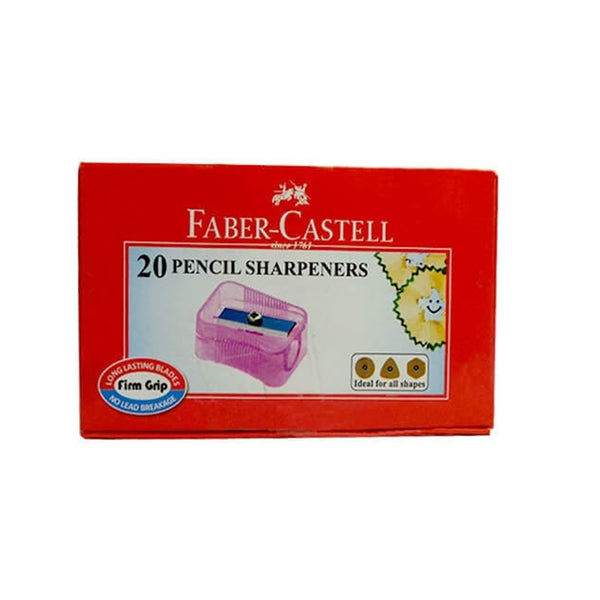 FABER - SHARPNER BOX - PACK OF 20