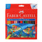 FABER - WS COLOUR PENCILS SCHOOLPACK - 24 SHADES