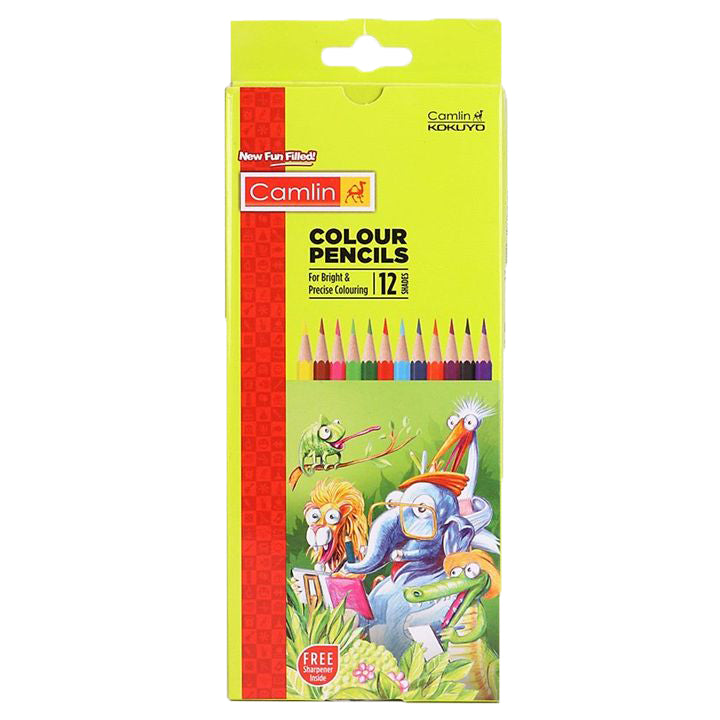 CAMLIN - COLOUR PENCILS - 12