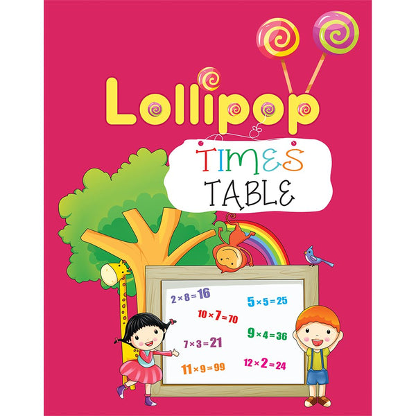 LOLLIPOP TIMES TABLE BOOK