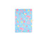 Smily Lockable Notebook Light Blue