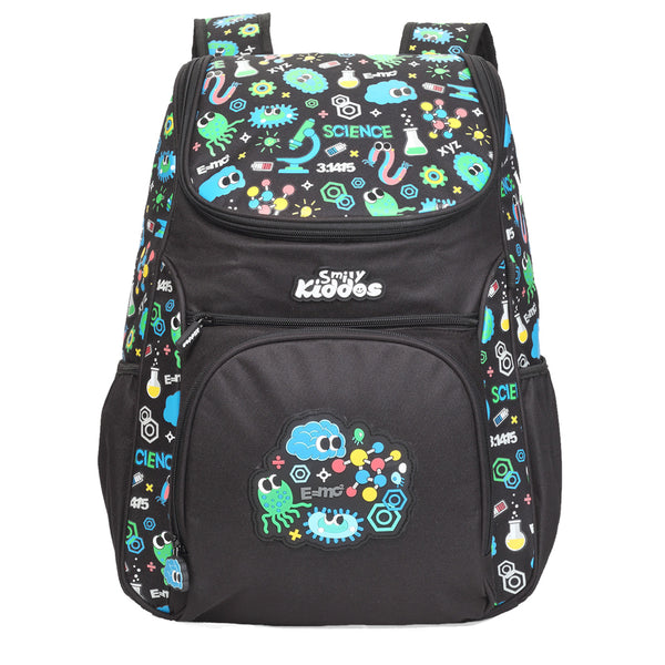 "Smily ""U"" Shape Backpack Black"