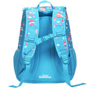 "Smily ""U"" Shape Backpack Light Blue"