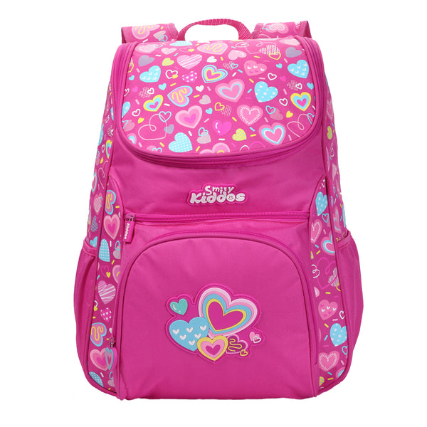 "Smily ""U"" Shape Backpack Pink"