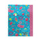Smily A5 Lined Exercise Notebook Light Blue