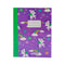 Smily A5 Lined Exercise Notebook Purple