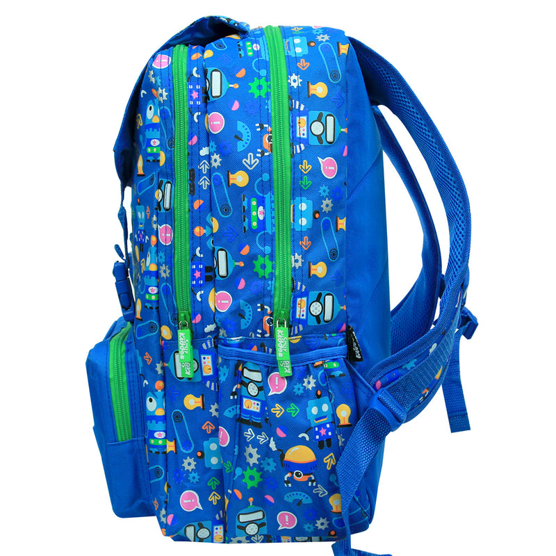 Smily Fancy Backpack Blue