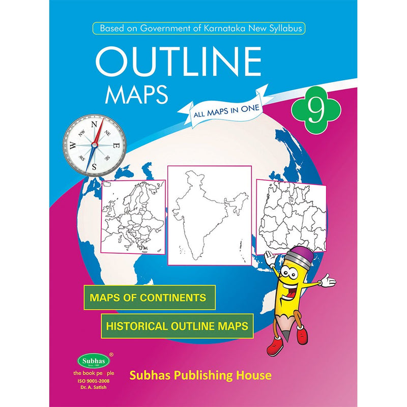 SUBHAS OUTLINE MAPS 9