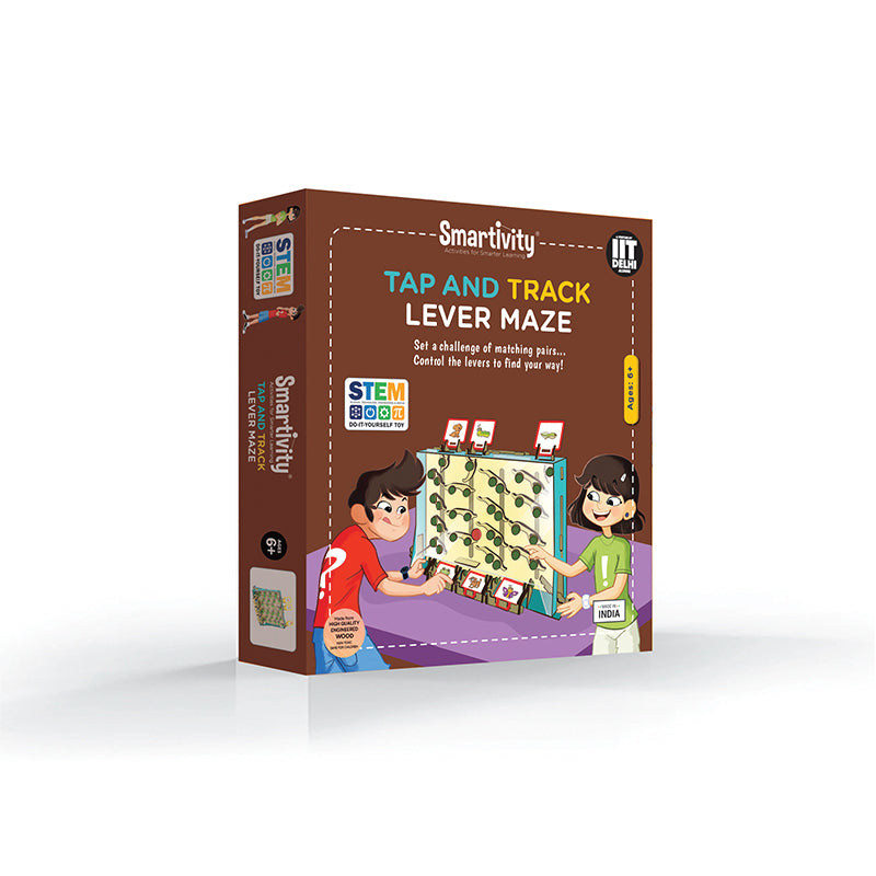 Tap and Track Lever Maze