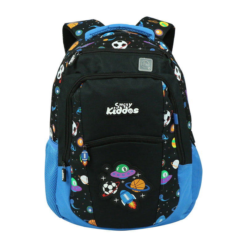 Smily Dual Color Backpack Black