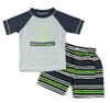 Boys Anchors Away Rash Guard Set