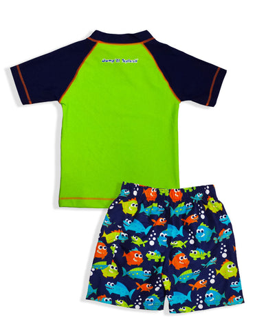 Boys Deep Sea Rash Guard Set