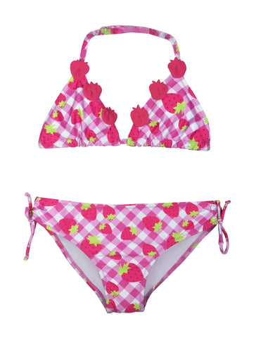 Small Girls Strawberry Bikini