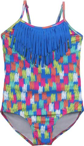 Girls Fringe One Piece