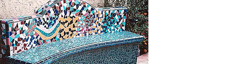 Incredible Mexican Tile Patios And Benches Mexican Tile Designs Uwap Interior Chair Design Uwaporg