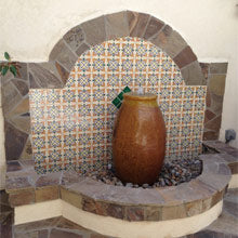Mexican Tile For Pools And Fountains Mexican Tile Designs