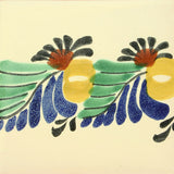 Border tile in Gorky Gonzales Collectible Mexican Art tile