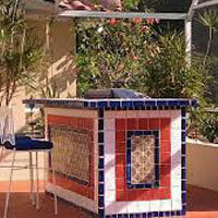 Using Mexican Tile Outdoors Mexican Tile Designs