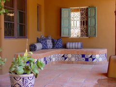 Mexican Tile Patio