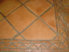 Mexican Tile Flooring - Corner