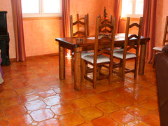 Mexican Tile Flooring - Terracotta