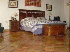 Mexican Tile Flooring Bedroom