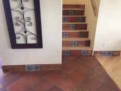 Saltillo Tile - Stairs