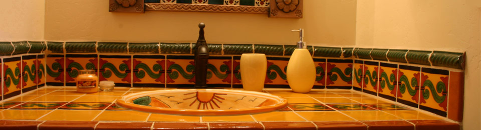 Mexican Style Bathroom Sinks   Warmth U0026 Elegance To Wild U0026 Whimsical