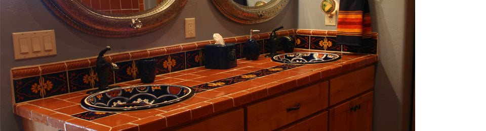 Bathrooms Mexican Tile Designs